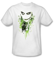 Batman T-Shirt - Engine Of Chaos Adult White Tee