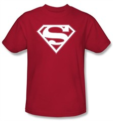 superman logo t shirt red   white shield adult red tee shirt 40% discount free shipping life like sex dolls what is a love doll drop ship ...